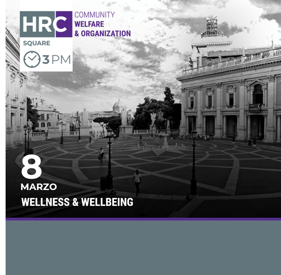 HRC SQUARE - WELLNESS & WELLBEING