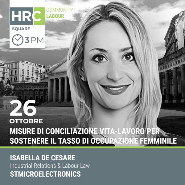 HRC SQUARE - MISURE DI CONCILIAZIONE VITA-LAVORO PER SOSTENERE IL TASSO DI OCCUP ...