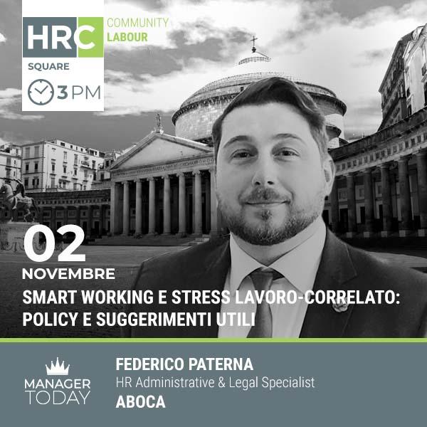 HRC SQUARE - SMART WORKING E STRESS LAVORO-CORRELATO: POLICY E SUGGERIMENTI UTIL ...