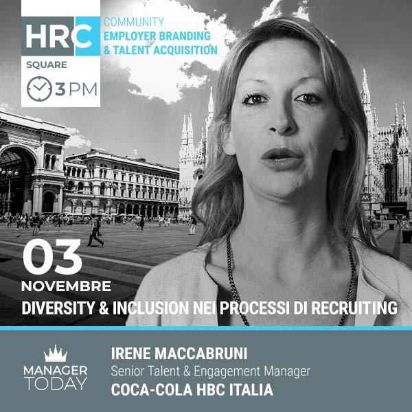 HRC SQUARE -  DIVERSITY & INCLUSION NEI PROCESSI DI RECRUITING