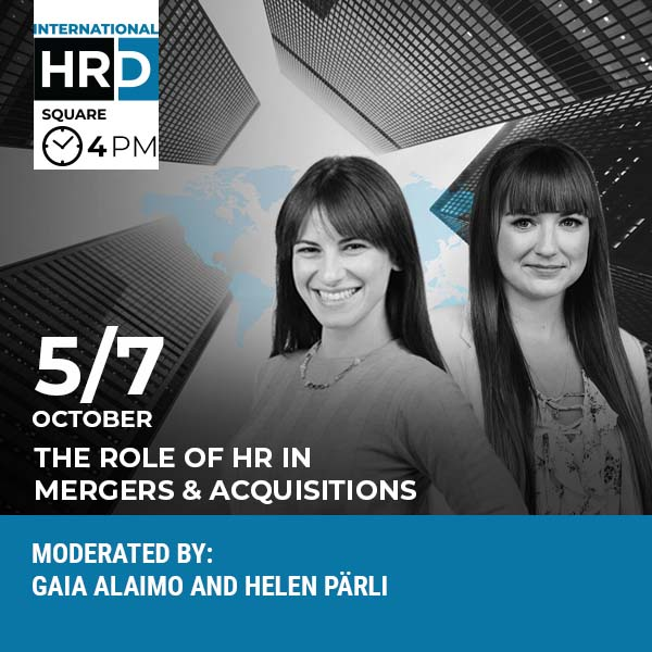 INTERNATIONAL HRD SQUARE - EMPLOYER BRANDING TO ATTRACT TALENTS IN M&As