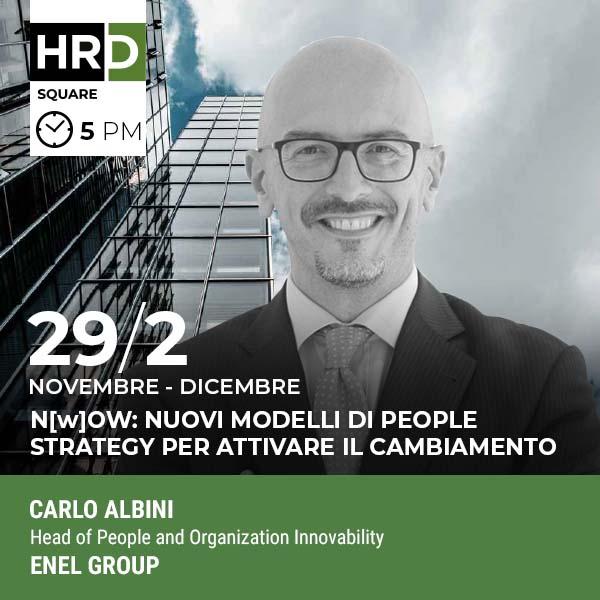 HRD Square - ABILITATORI DI CAMBIAMENTO: NUOVO RUOLO DI PEOPLE BUSINESS PARTNER