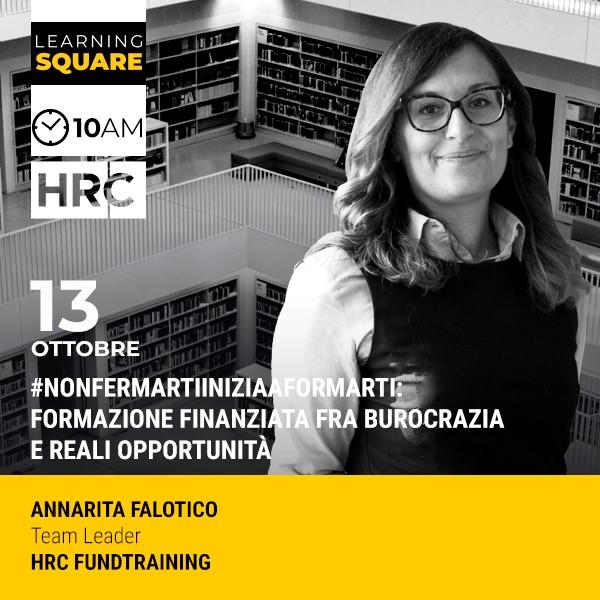 LEARNING SQUARE - #NonFermartiIniziaAFormarti: FORMAZIONE FINANZIATA FRA BUROCRA ...