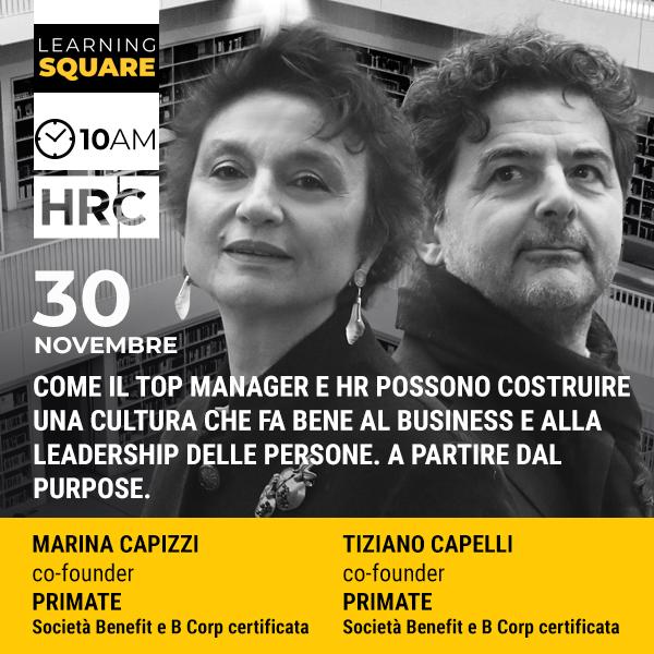 LEARNING SQUARE - COME IL TOP MANAGER E HR POSSONO COSTRUIRE UNA CULTURA CH ...