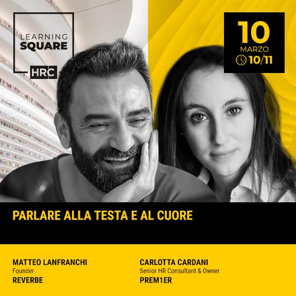 LEARNING SQUARE - PARLARE ALLA TESTA E AL CUORE