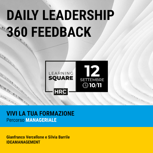 LEARNING SQUARE - DAILY LEADERSHIP 360 FEEDBACK