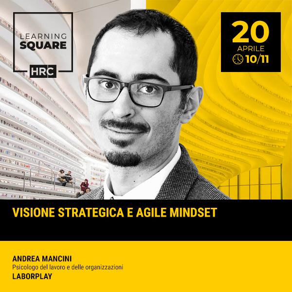 LEARNING SQUARE - VISIONE STRATEGICA E AGILE MINDSET