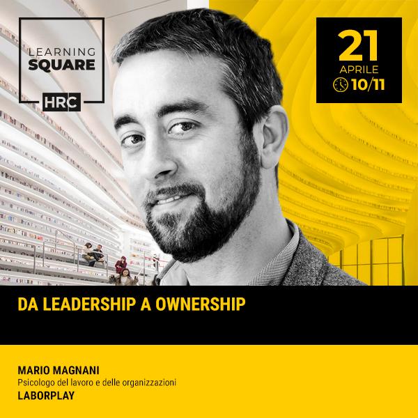 LEARNING SQUARE - DA LEADERSHIP A OWNERSHIP
