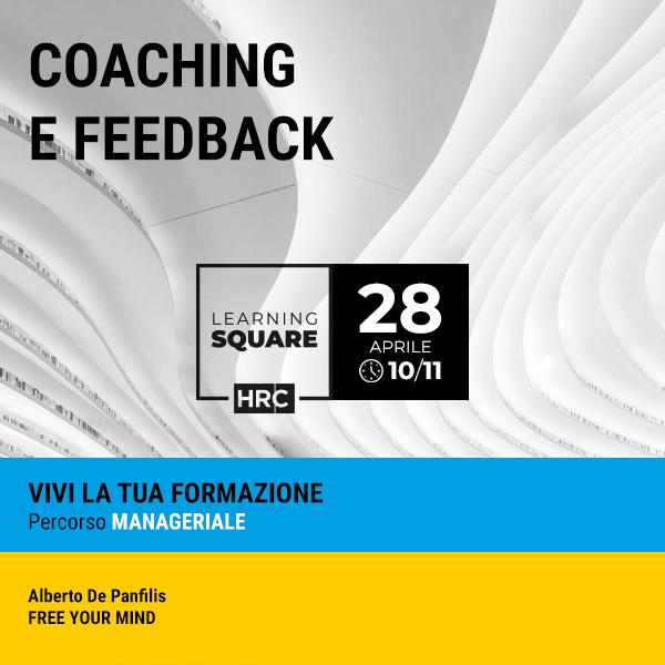 LEARNING SQUARE - COACHING E FEEDBACK