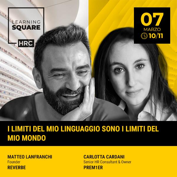 LEARNING SQUARE - I LIMITI DEL MIO LINGUAGGIO SONO I LIMITI DEL MIO MONDO
