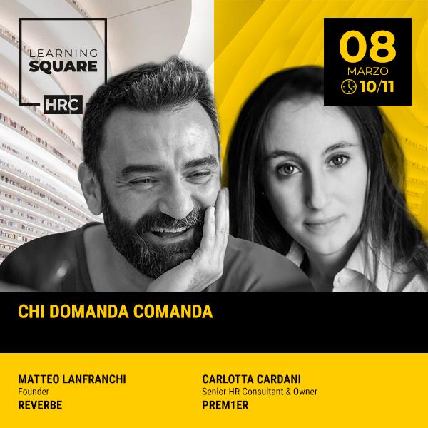 LEARNING SQUARE - CHI DOMANDA COMANDA
